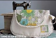 White Bags / Handbag sewing inspiration, projects, and patterns.