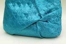Amazing Aqua Bags / Beautiful samples of bags created using a sewing tutorial, pattern, or project featured at PatternPile