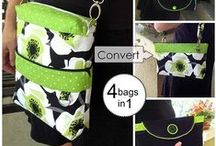 Reversible Bags /  Sewing Projects, Patterns & Tutorials for Reversible Bags of all Styles and Sizes