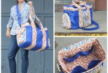 Large Capacity Bags / Sewing patterns, projects and tutorials demonstrating how to make Large Capacity Bags.