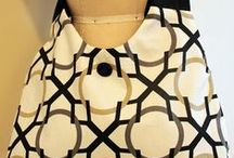 Modern & Abstract Styled Handbags - Sewing Inspiration / by PatternPile.com