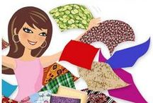 Fabric Stash Busters / by PatternPile.com