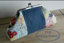 Coin Purses / Sewing, knitting, and crochet patterns, tutorials and projects for coin purses.