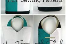 Tote Bags /  Sewing Projects, Patterns & Tutorials for Tote Bags