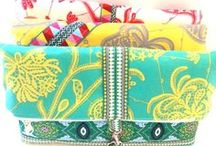 Know When To Fold 'em / Sewing patterns, tutorials and DIY projects to make fold-over handbags.