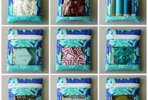 Mini Bags / Beautiful samples of bags created using a sewing tutorial, pattern, or project featured at PatternPile