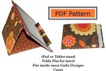 Tablet Cases and Totes / Sewing patterns, tutorials and projects to create tablet cases and totes.