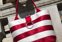 Nautical Bags / Sewing Inspiration, Patterns, and Tutorials for Nautical-Style Bags
