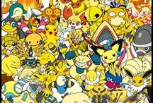 Pokemon / Shhhhhi love pokemon.