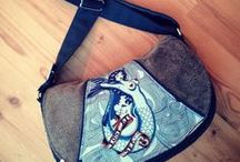Saddle Style Bags / Sewing patterns, tutorials and projects to create Saddle Style Bags