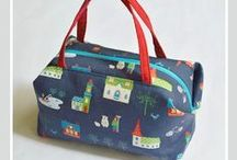Boxy Bags / Sewing patterns, tutorials and projects to create Boxy Bags