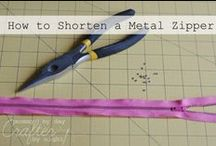 Bag Zipper Sewing /  Sewing projects, patterns & tutorials for Bag Zipper Sewing