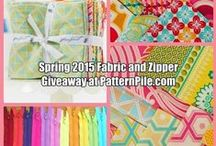 Sewing Supply Give-aways and Draws