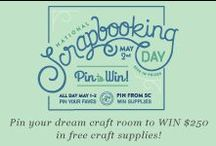 Studio Calico's pin your dream craft room compeition