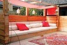 Garten Ideen / Garten Ideen, Gartengestaltung, Gartendeko. Blumen und Pflanzgefäße, Terrassen, Balkone. Bepflanzungsideen und Pflanzenarrangements für Outdoor. Ideen für Sitzecken und lauschige Plätze.
