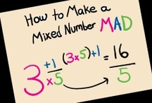 Teaching - Math: Fractions, Decimals, & Percents / by Michele Marrs