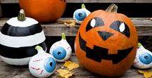 Halloween Deko / Wer will gruselige Halloween Dekoration mit mir basteln? Viele Ideen für Halloween basteln mit Kindern, für drinnen und draußen, Tür, Fenster und Treppe. Hexen, Gespenster, Kürbisse, Feldermäuse - hier gibt es einfache Bastelideen für jeden Geschmack.