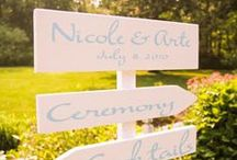 Signs / by The Overwhelmed Bride Blog