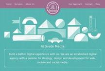 Websites / A collection of inspiring Web Interfaces and EDMs.