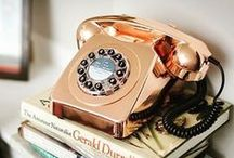 Classic Phones / A contemporary twist on a mid-century style icons. London calling! Our collection of authentic telephones bring style to the home and are iconic to the time periods they celebrate.
