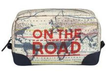 On the Road / A well - travelled range of accessories to carry the spirit of adventure with you wherever you may be...