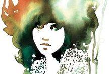 Illustration & print / Artworks and illustrations that I adore.