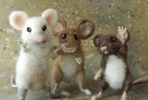 Felted Creatures
