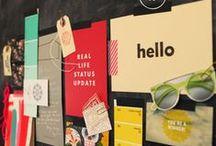 Moodboard / Moodboards in allen Farben und Formen - zur Erinnerung, zur Inspiration und vor allem: schön anzusehen.
