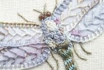 Embroidery - Flora and Fauna