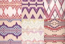 Embroidery - Huck Weaving