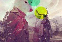 • G r a p h i c / Z o o • / Animals in Graphic Design