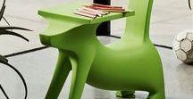Furniture from Philippe Starck / Мебель, созданная культовым дизайнером Филиппом Старк.