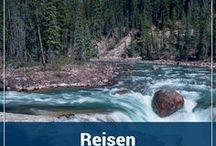 Reisen Kanada / Kanada - ein Traum für Naturliebhaber! Egal ob in der Wildnis des Yukon, in den faszinierenden National Parks wie Jasper oder Banff, oder an den großen Seen im Osten des Landes. Auf einem schönen Road Trip mit dem Camper oder dem Mietwagen gibt es wahnsinnig viel zu sehen.  (Reisen, Kanada, Road Trip, Wohnmobil, National Park, Jasper, Banff, Landschaft, Rundreise, Tiere, Bären)