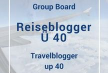 "Travelblogger Up 40 / Gruppenboard der Facebook-Gruppe ""Reiseblogger über 40"" 