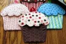 Placemats, mugrugs, potholders / Placemats, mugrugs, potholders - tutorials and inspirations