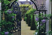 Beautiful Gates and Doors / by HappyGlitzyGirl