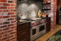 Bitchin' Kitchens: Inspired Kitchen Design, Products & Ideas / If the kitchen is the heart of the home, let it be a place that fills you with inspiration and joy. We love these gorgeous kitchen designs and ideas.