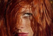 """red / """"Blondes may have more fun, brunettes may be brainier, but when it comes down to raw energy, creativity, and personality … you just can't beat a redhead well, you can, but beware … she'll probably beat you back!"""" -Redheads Unlimited"""