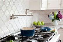 Beveled Arabesque Tile / Our Beautiful Beveled Arabesque Tile