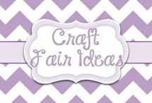 Craft Fair Ideas / All things Craft Fair and booth decorating / by Lori McKinzie