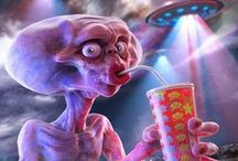 life from outer space / alien, space creature, ufo