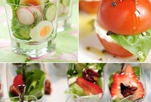 Salads / I love salads, and love to experiment with different flavours, and the combinations seem to be endless....