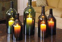 Recycled Wine Bottles / Recycled Wine Bottles