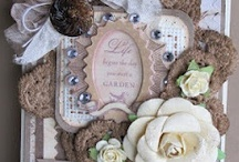 Cards shabby chic/vintage