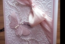 Cards with embossing