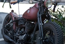 Motorcycles / Old and new Motorcycles. We may not sell them often here, but we still love them! / by Eddie Mercer Automotive