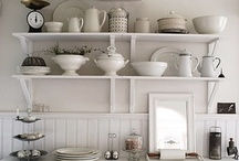 Why Not White? / Inspiration for clean, fresh design utilizing white paint, decor, and more.