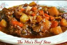 Soups and stews / by Denise Bodmer-Booker