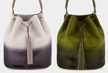 Shoulder Bag Beauties / Obviously we love handbags, and one of our favorite styles in the shoulder bag. Shoulder bags come in all shapes and sizes: big, small, convertible, glittery, basic, or just plain practical.