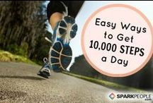 10,000 + steps a day / Walking and the benefits